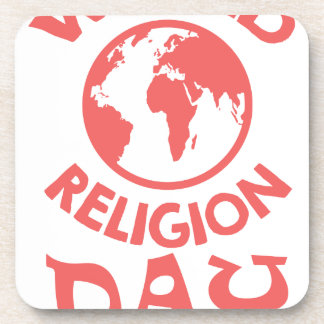 Eighteenth January - World Religion Day Drink Coaster