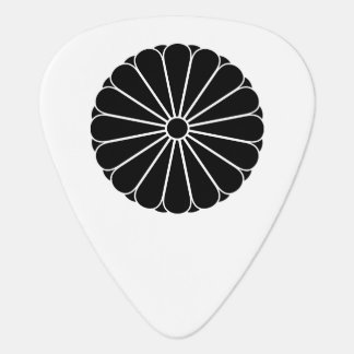 Eightfold 16 chrysanthemum guitar pick