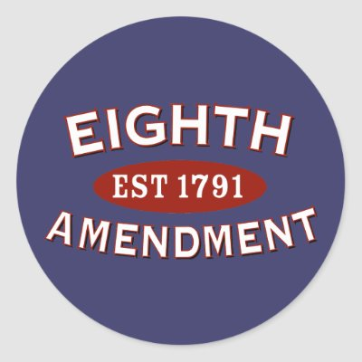the eighth amendment Eighth amendment - further guarantees in criminal cases amendment text | annotations excessive bail shall not be required, nor excessive fines imposed, nor cruel.