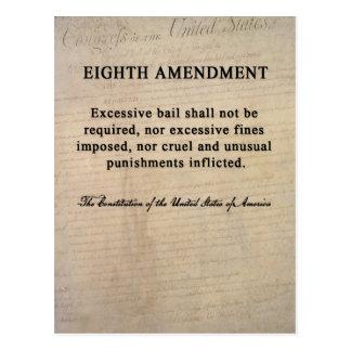 Eighth Amendment Postcards