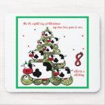 Eighth Day of Christmas Mousepad