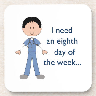 EIGHTH DAY OF THE WEEK DRINK COASTER