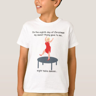 Eighth Day Redneck Christmas T-Shirt