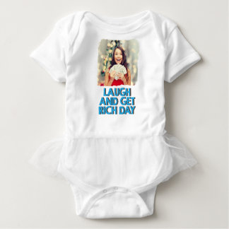 Eighth February - Laugh And Get Rich Day Baby Bodysuit