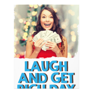 Eighth February - Laugh And Get Rich Day Letterhead