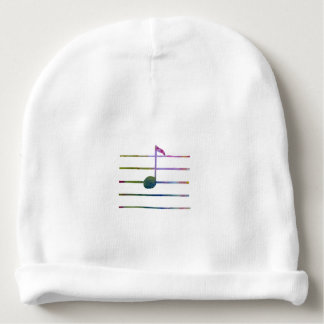 Eighth Note Baby Beanie