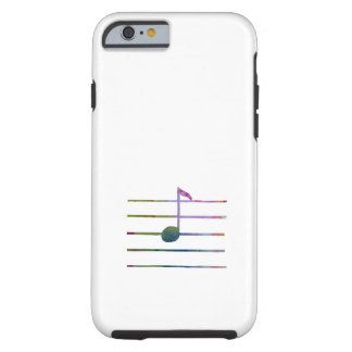 Eighth Note Tough iPhone 6 Case