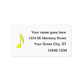 eighth note yellow black.png address label