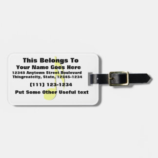 eighth note yellow black.png luggage tag