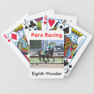 Eighth Wonder by Pioneer of the Nile Bicycle Playing Cards