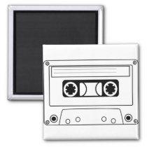 Eighties Cassette Magnet