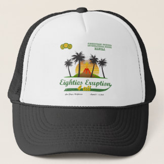 Eighties Eruption 4 All Trucker Hat