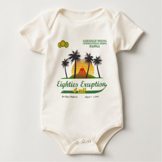Eighties Eruption 4All Organic Baby Shirt
