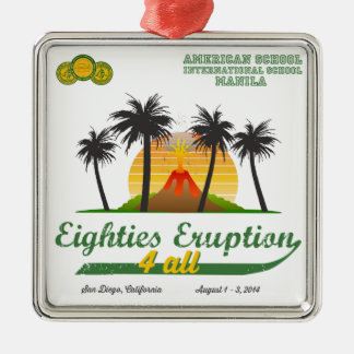 Eighties Eruption 4All Ornament