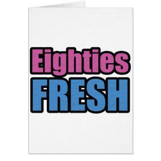Eighties Fresh Card