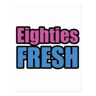 Eighties Fresh Postcard