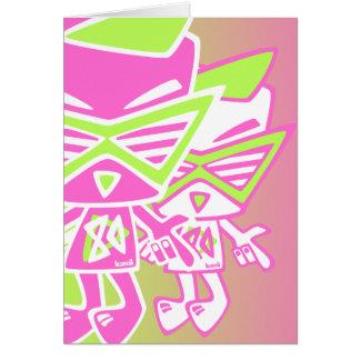 Eighties Mascot Card