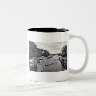 Eights Crew Rowing, Oxford England Vintage Coffee Mug