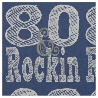 Eighty and Rockin Fabric