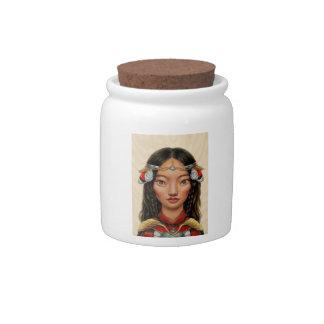Eighty Eight Candy Jar