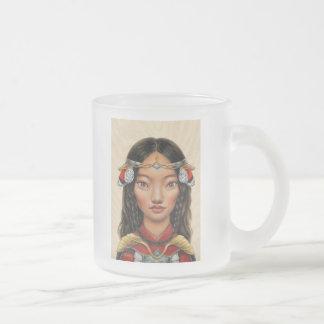 Eighty Eight Frosted Glass Coffee Mug