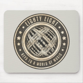 Eighty Eight Keys Mouse Pad