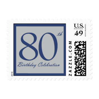 Eighty Navy Postage Stamp