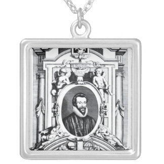 'Eighty Sermons Preached by that Learned Silver Plated Necklace