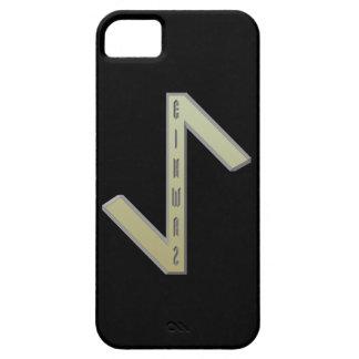 Eihwaz Rune gold iPhone SE/5/5s Case