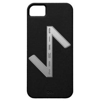 Eihwaz Rune grey iPhone SE/5/5s Case