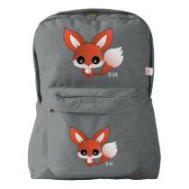 Eiichi the fox backpack