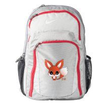 Eiichi the fox nike backpack