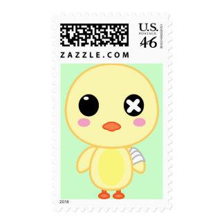 Eijiki the Chick Stamp