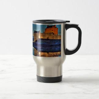 Eilean Donan Castle at night Travel Mug