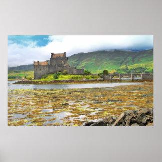 Eilean Donan Castle colour Print