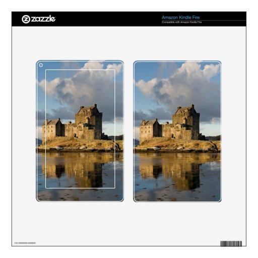 Eilean Donan Castle Decals For Kindle Fire
