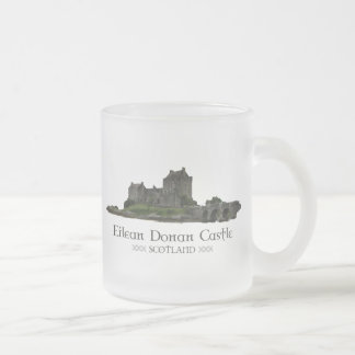 Eilean Donan Castle Frosted Glass Coffee Mug