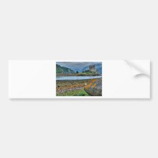 Eilean Donan Castle HDR Bumper Sticker