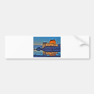 Eilean Donan Castle HDR Bumper Stickers