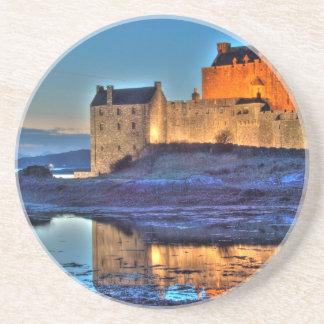Eilean Donan Castle HDR Beverage Coaster