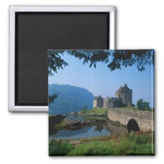 Eilean Donan Castle, Highlands, Scotland 2 2 Inch Square Magnet