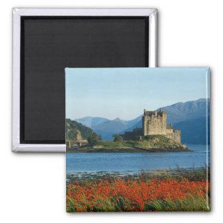 Eilean Donan Castle, Highlands, Scotland 3 2 Inch Square Magnet