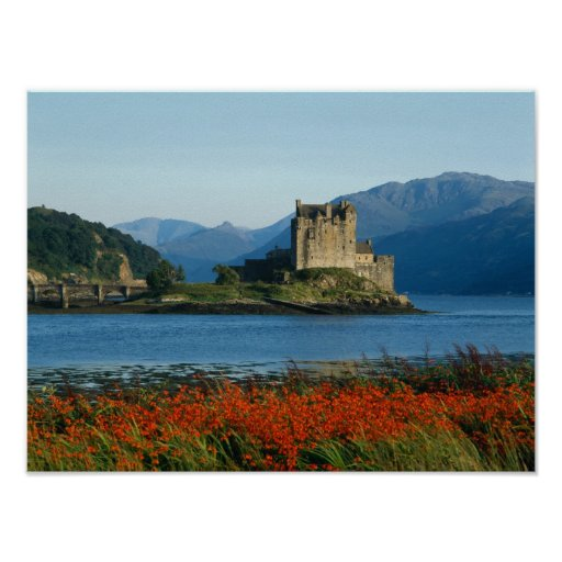 Eilean Donan Castle, Highlands, Scotland 3 Posters