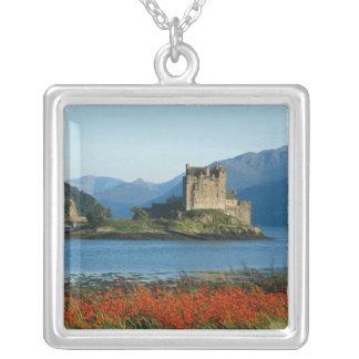 Eilean Donan Castle, Highlands, Scotland 3 Silver Plated Necklace