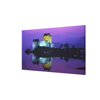 Eilean Donan Castle, Highlands, Scotland 4 Canvas Print