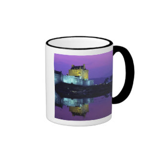 Eilean Donan Castle, Highlands, Scotland 4 Ringer Mug