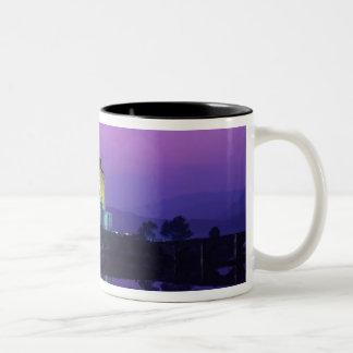 Eilean Donan Castle, Highlands, Scotland Two-Tone Coffee Mug