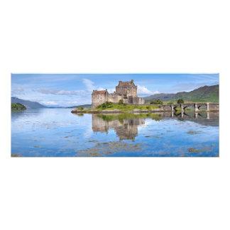 Eilean Donan Castle Panorama Scotland Photo Art