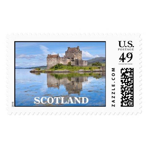 Eilean Donan Castle, Scotland postage stamps