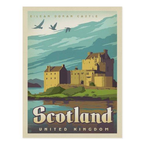 Eilean Donan Castle _ Scotland Postcard